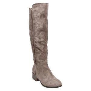 NEW Merona Evie Tall Knee-High Stretch Riding Boot